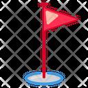 Flag Target Icon