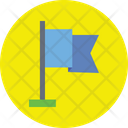 Flag With Pole Icon