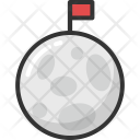 Flagged Planet Icon