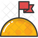 Flagged Planet Successful Icon