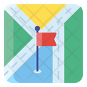 Flagpost Map Direction Map Navigation Icon