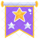 Lace Flags Stars Icon