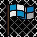Flags Goal Award Icon