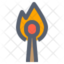 Camping Fire Flame Icon