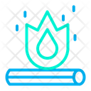 Fire Flammable Burnable Icon