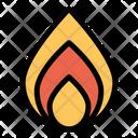 Born Fire Hot Icon