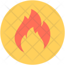 Flame Fire Warning Icon