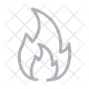 Flame Fire Burn Icon