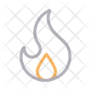 Flame Fire Hot Icon