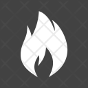 Flame Fire Campfire Icon