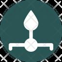 Flame Lab Laboratory Icon