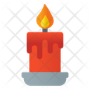 Flame Candle Candlelight Icon