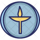 Flaming Chalice Icon