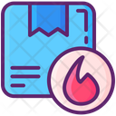 Flammable Box Icon
