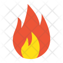 Flammable Delivery Fire Icon