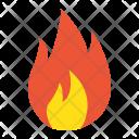 Flammable symbol Icon