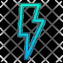 Lightning Spark Light Icon