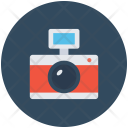 Flash Camera Digital Icon