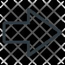 Flash Right Carsign Icon