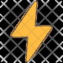 Flash Bolt Lightning Icon