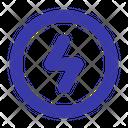 Flash Energy Lightning Icon