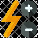 Flash Increase Decrease Icon