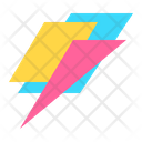 Icon Flash Abstract Primitive Icon