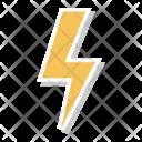 Flash Lighting Electricity Icon