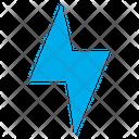Flash Lightning Thunder Icon