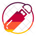 Flash Drive Multimedia Icon