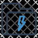Flash Folder Archive Icon