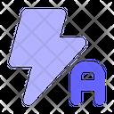 Flash Auto Auto Flash Icon