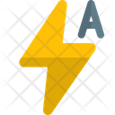 Flash Auto Auto Flash Flash Light Icon