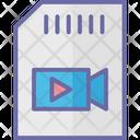 Flash Card Memory Card Memory Cartridge Icon