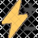 Flash Compensation Icon