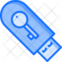 Flash Drive Key Icon
