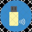 Flash Drive Signals Icon