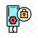 Flash Drive Password Icon