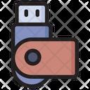 Flash Drive Usb Pendrive Icon