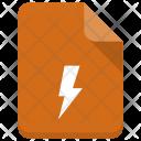 Flash File Document Icon