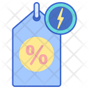 Flash Sale Offer Tag Offer Label Icon