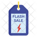 Flash Sale Discount Cut Price Icon