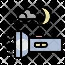 Flashlight Light Night Icon