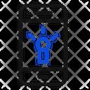 Mobile Phone Flashlight Icon Icon