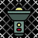 Flashlight Camping Light Icon