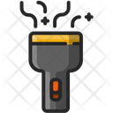 Flashligth Flashlight Electric Icon