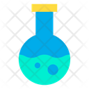 Conical Flask Chemistry Lab Laboratory Equipment Icon