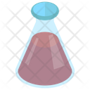 Flask Lab Apparatus Chemical Flask Icon