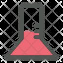 Flask Laboratory Sciene Icon