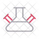 Flask Lab Science Icon